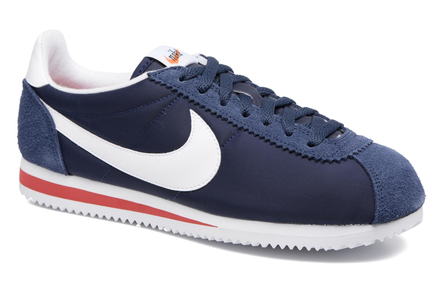 Classic Cortez Nylon Prem Midnight Navy/White-Varsity Red