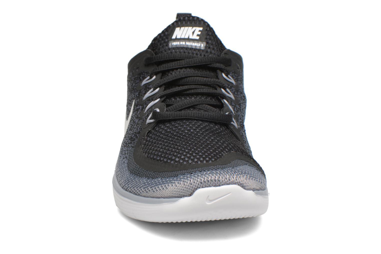Nike Free Rn Distance 2 Black/White-Cool Grey-Dark Grey