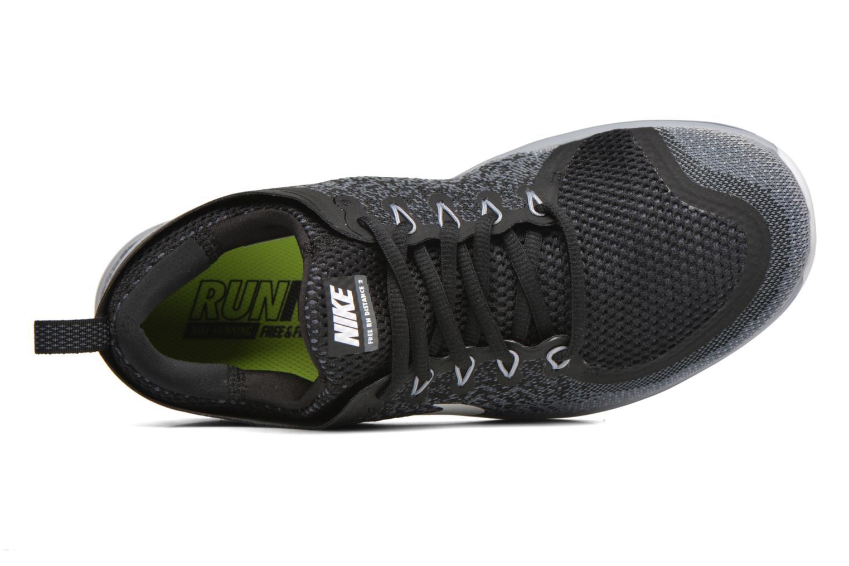 Chaussures de sport Nike Nike Free Rn Distance 2 Noir vue gauche