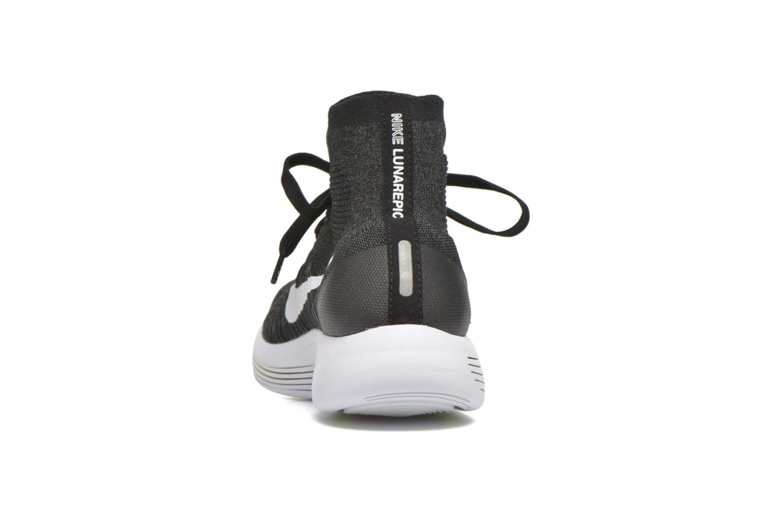 Zapatillas de deporte Nike Nike Lunarepic Flyknit Negro vista lateral derecha
