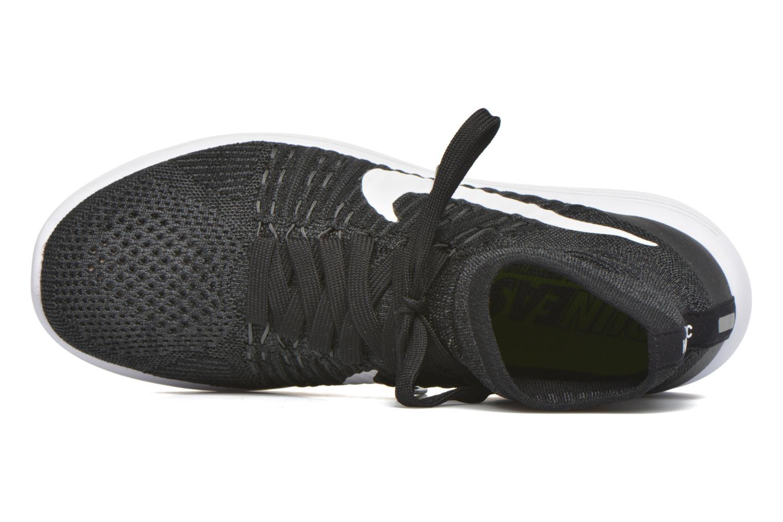 Chaussures de sport Nike Nike Lunarepic Flyknit Noir vue gauche