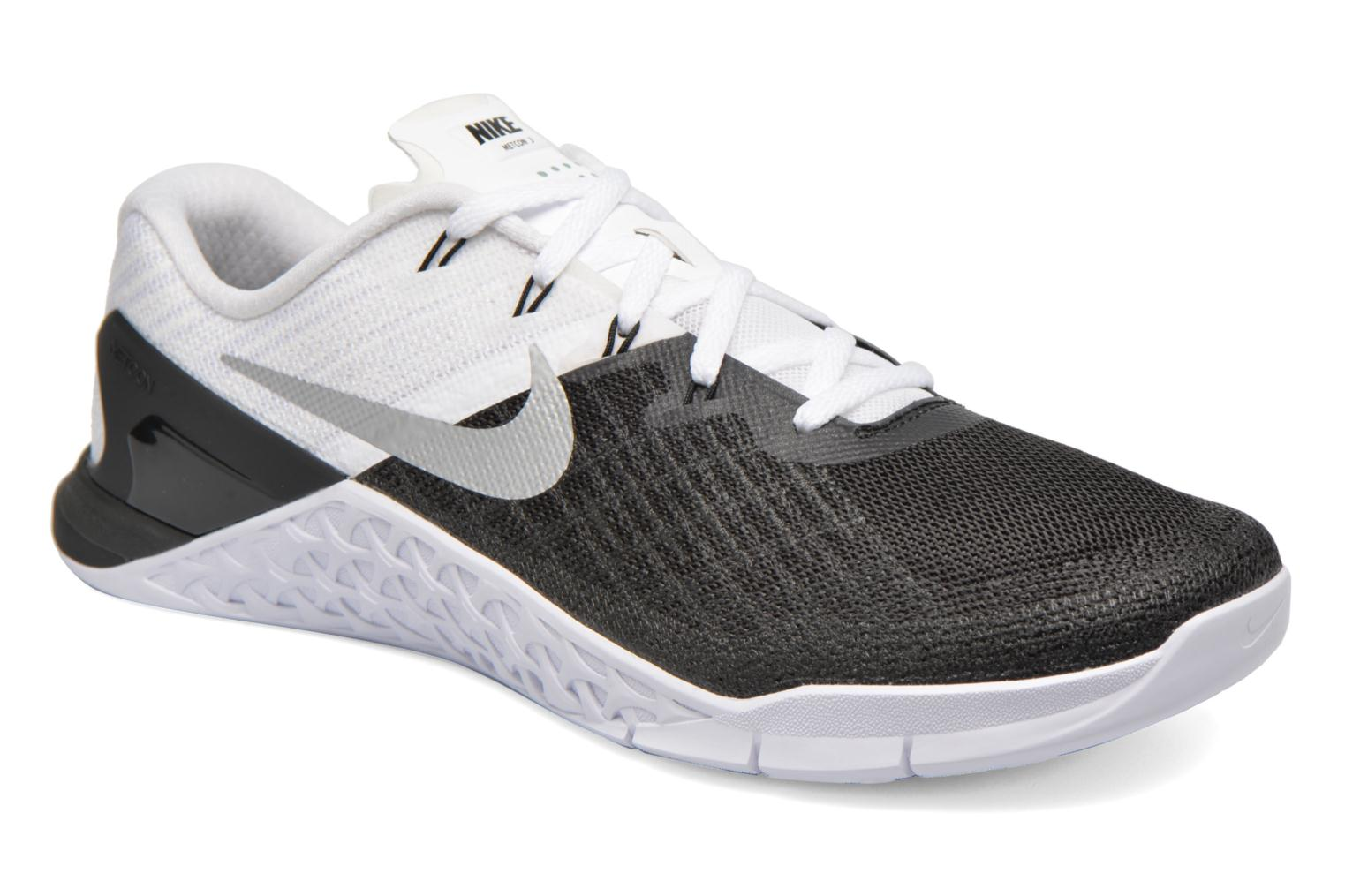 Nike Metcon 3 Black/white-Metallic Silver
