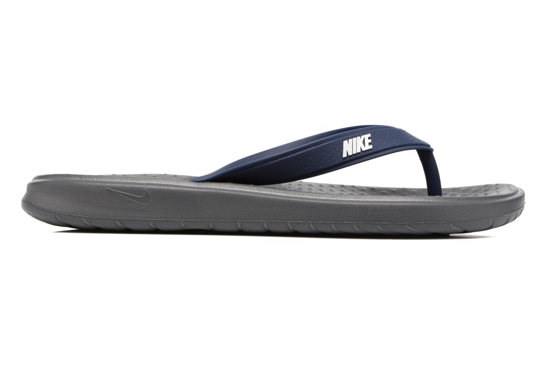 Slippers Nike Solay Thong Zwart achterkant