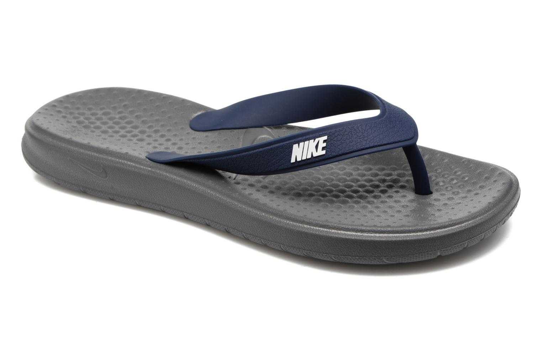 Slippers Nike Solay Thong Zwart detail