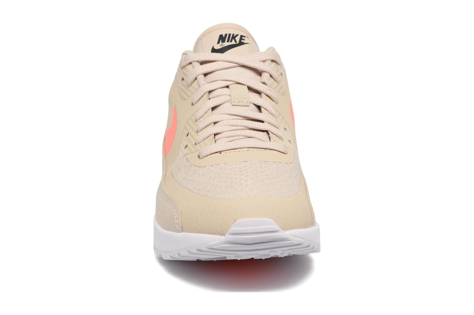 W Air Max 90 Ultra 2.0 Oatmeal/Lava Glow-White-Dark Grey