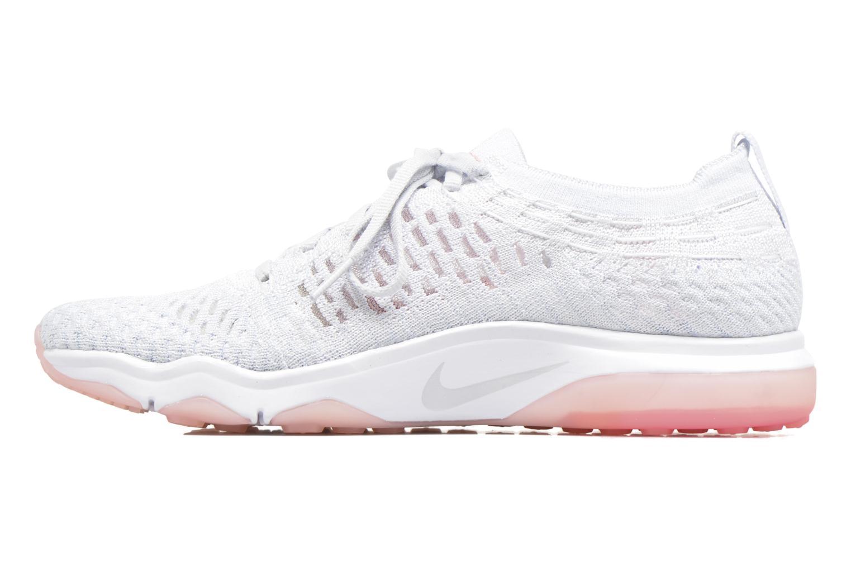 Sportschuhe Nike W Air Zoom Fearless Flyknit weiß ansicht von vorne