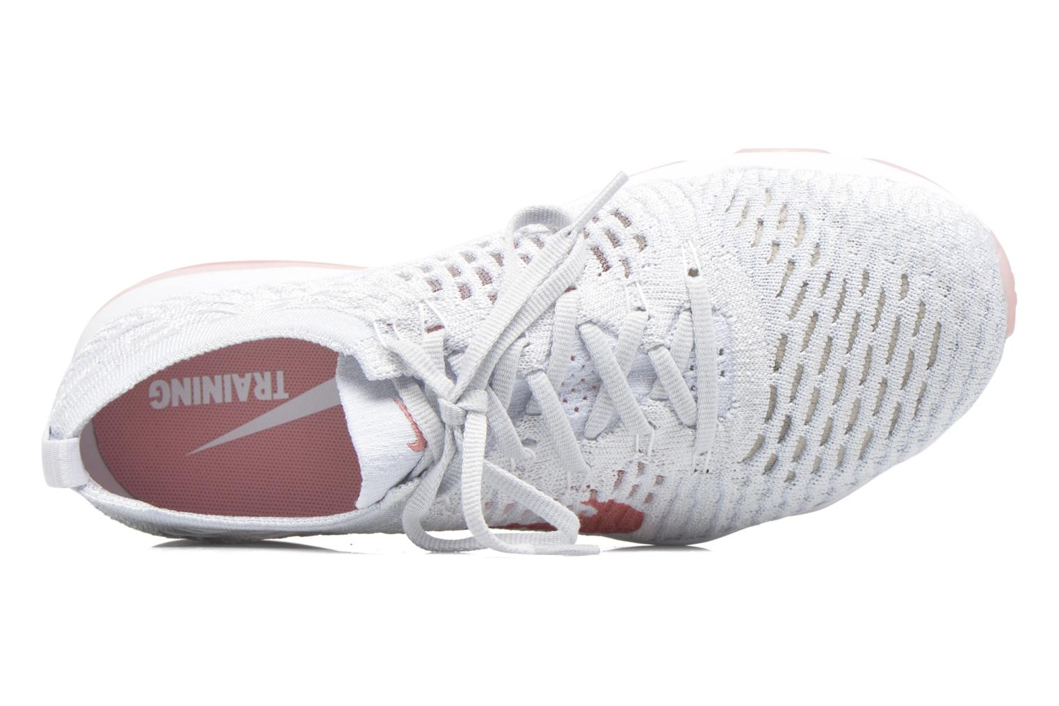 W Air Zoom Fearless Flyknit White/Bright Melon-Pure Platinum