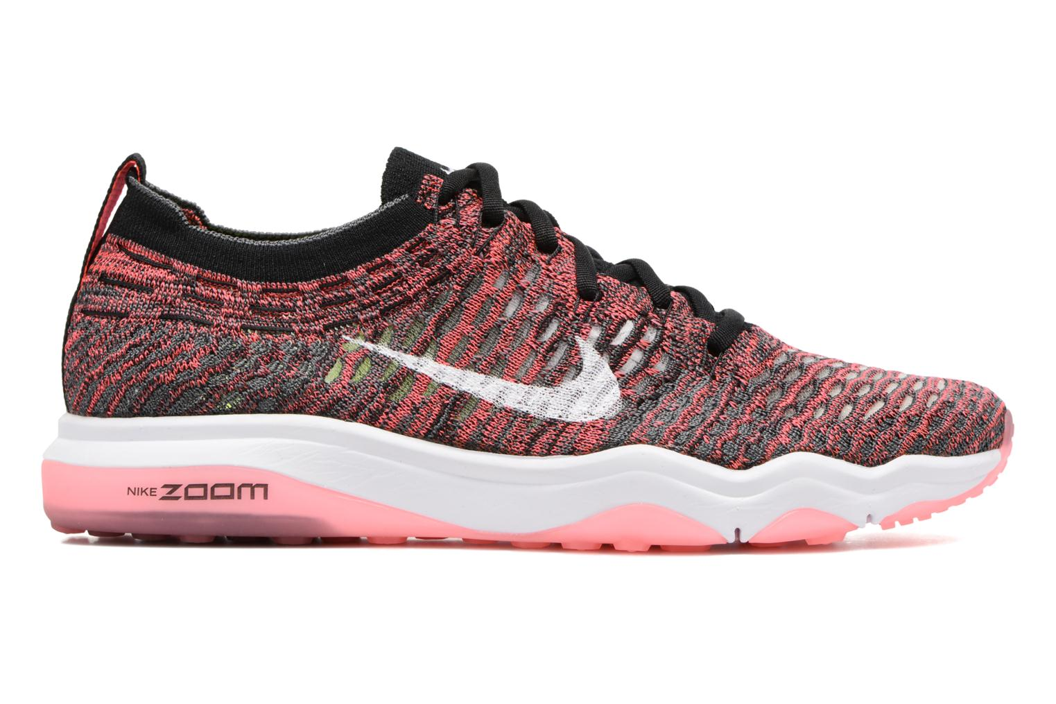 W Air Zoom Fearless Flyknit Black/White-Solar Red-Dark Grey