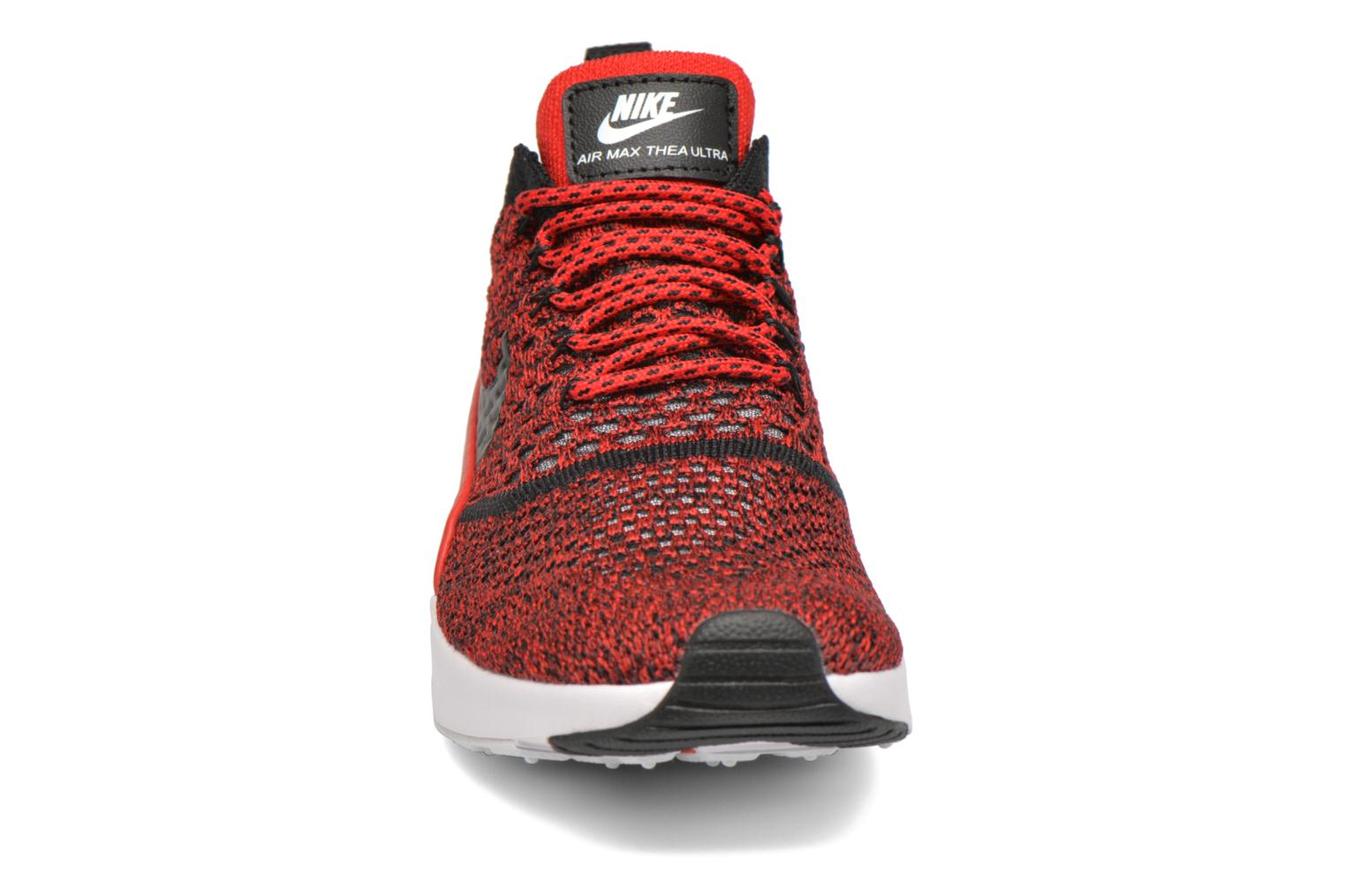 Baskets Nike W Nike Air Max Thea Ultra Fk Rouge vue portées chaussures