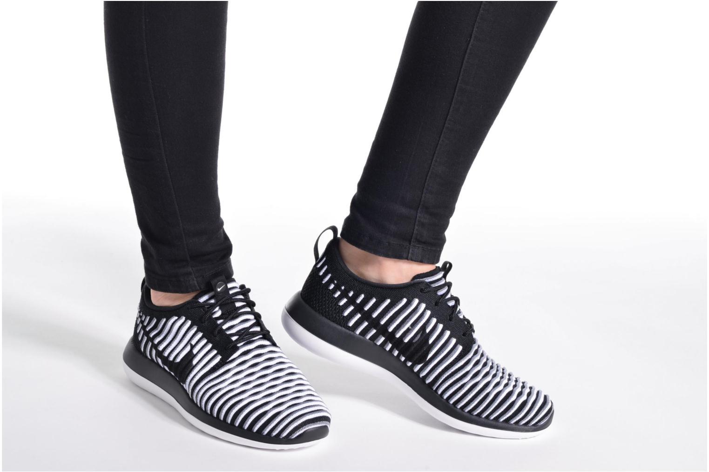 W Nike Roshe Two Flyknit Bright Melon/White-Black
