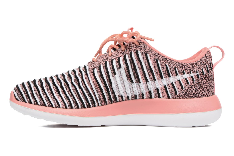 Sneakers Nike W Nike Roshe Two Flyknit Arancione immagine frontale