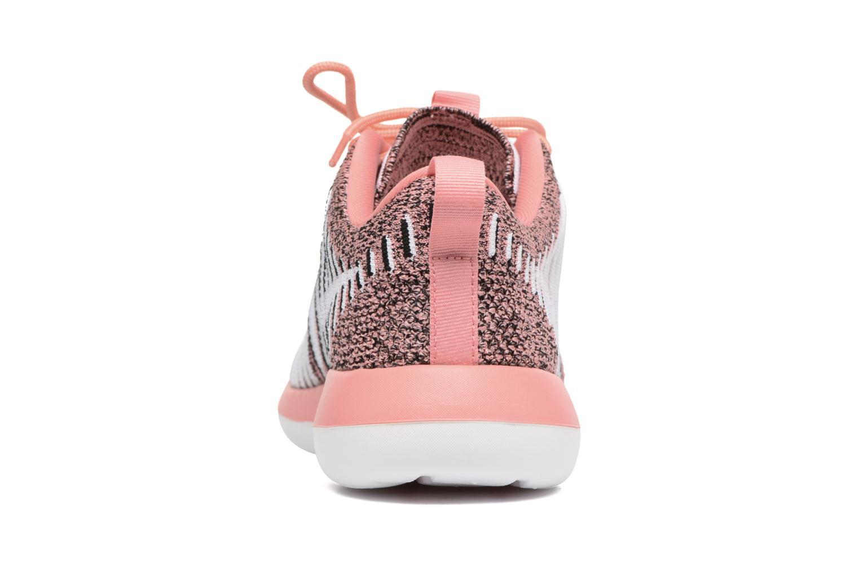 Baskets Nike W Nike Roshe Two Flyknit Orange vue droite