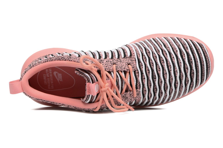 Baskets Nike W Nike Roshe Two Flyknit Orange vue gauche