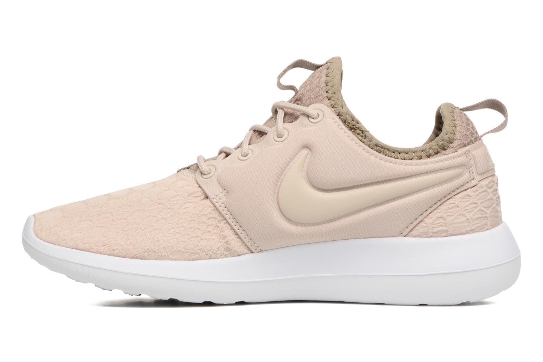 Sneaker Nike W Roshe Two Se beige ansicht von vorne