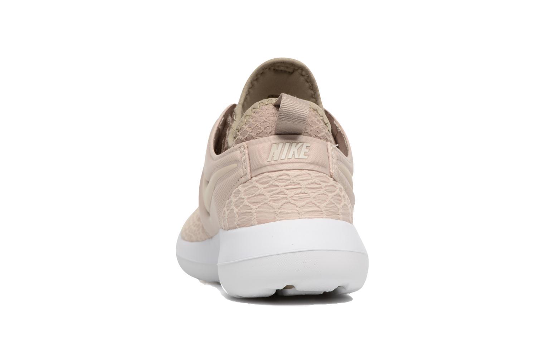 Baskets Nike W Roshe Two Se Beige vue droite