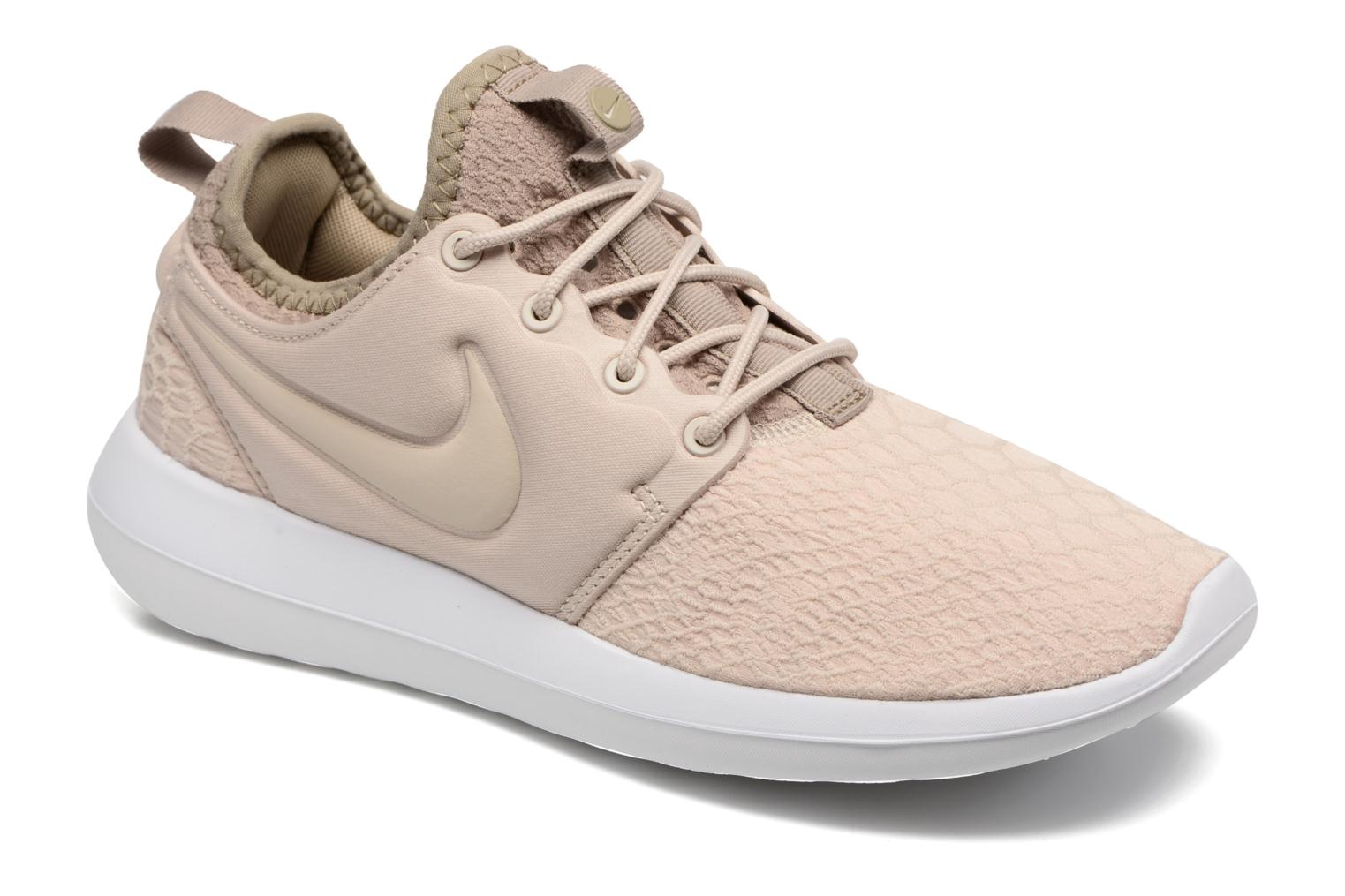 Baskets Nike W Roshe Two Se Beige vue détail/paire
