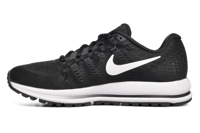 Sportschuhe Nike Wmns Nike Air Zoom Vomero 12 schwarz ansicht von vorne