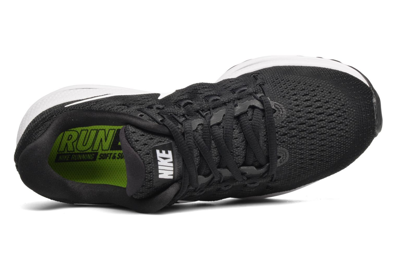 Zapatillas de deporte Nike Wmns Nike Air Zoom Vomero 12 Negro vista lateral izquierda