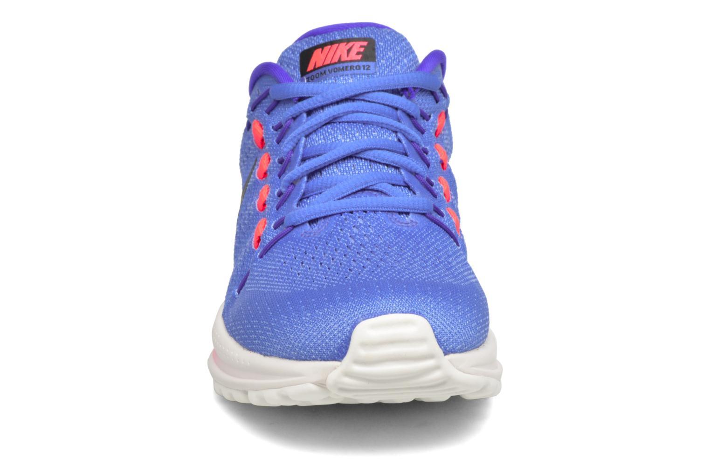 Sportschuhe Nike Wmns Nike Air Zoom Vomero 12 blau schuhe getragen