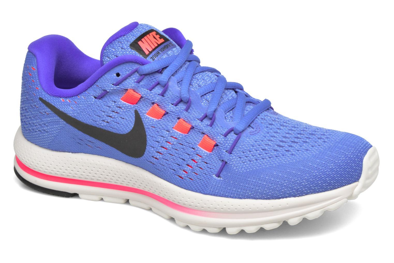 Sportssko Nike Wmns Nike Air Zoom Vomero 12 Blå detaljeret billede af skoene