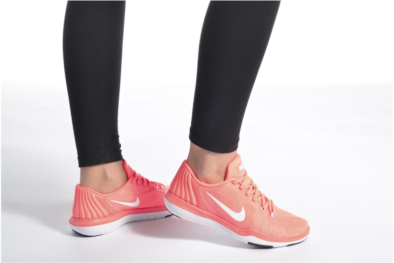 Scarpe sportive Nike Wmns Nike Flex Supreme Tr 5 Nero immagine dal basso