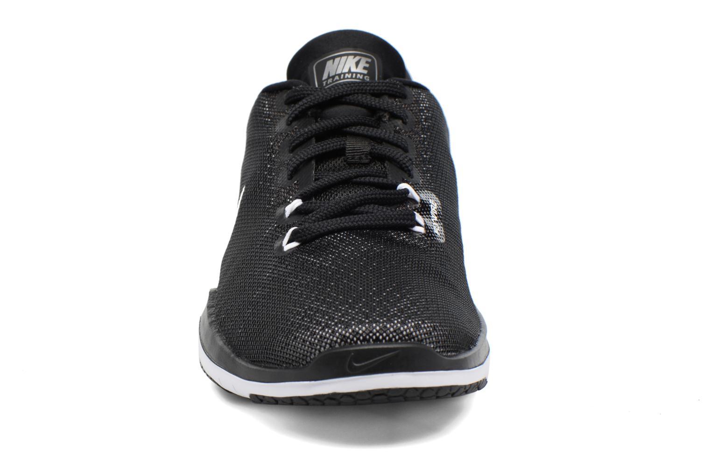 Scarpe sportive Nike Wmns Nike Flex Supreme Tr 5 Nero modello indossato