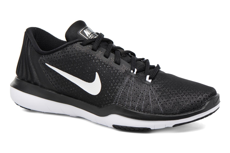 Sportssko Nike Wmns Nike Flex Supreme Tr 5 Sort detaljeret billede af skoene