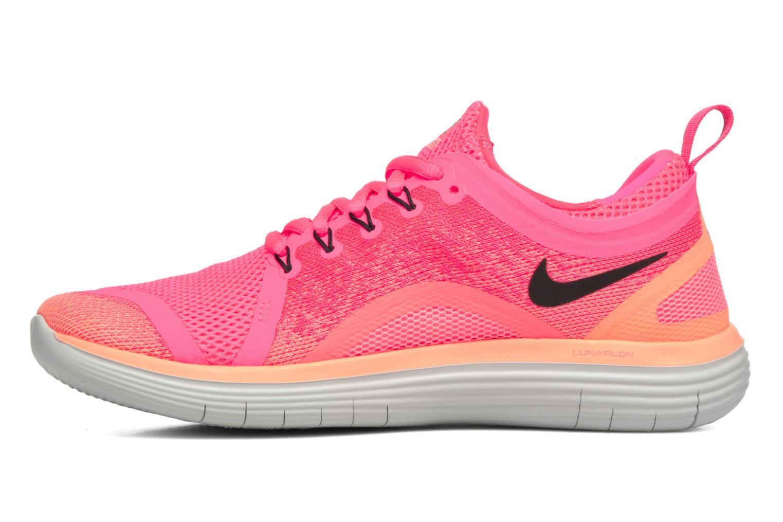 Chaussures de sport Nike Wmns Nike Free Rn Distance 2 Rose vue face
