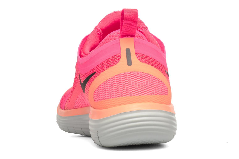 Sportschuhe Nike Wmns Nike Free Rn Distance 2 rosa ansicht von rechts