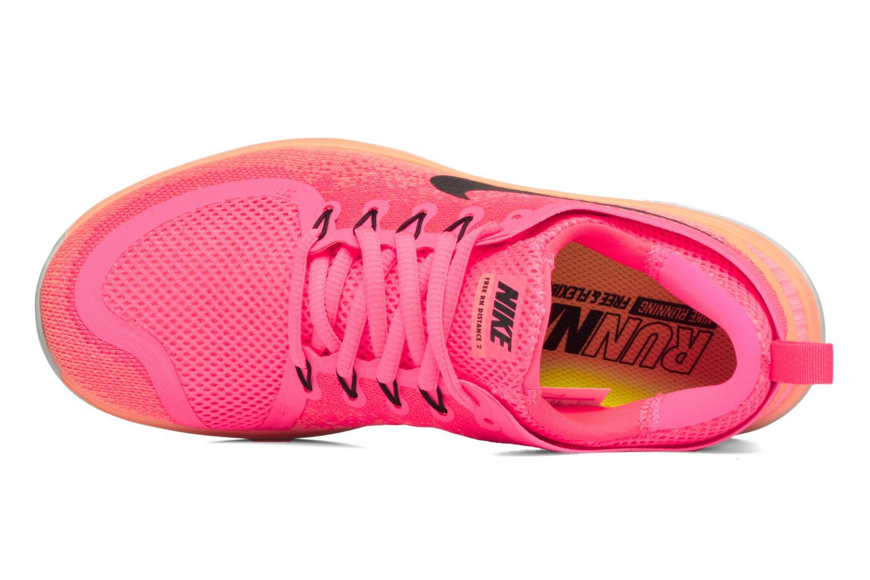 Sportschuhe Nike Wmns Nike Free Rn Distance 2 rosa ansicht von links