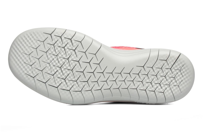 Chaussures de sport Nike Wmns Nike Free Rn Distance 2 Rose vue haut