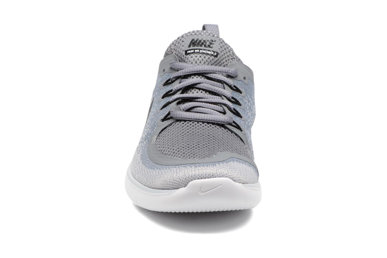 Chaussures de sport Nike Wmns Nike Free Rn Distance 2 Gris vue portées chaussures