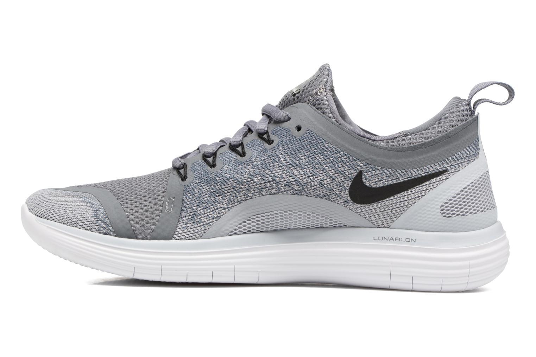 Sportschuhe Nike Wmns Nike Free Rn Distance 2 grau ansicht von vorne