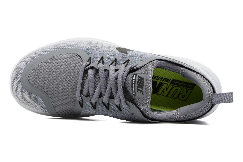 Sportschuhe Nike Wmns Nike Free Rn Distance 2 grau ansicht von links