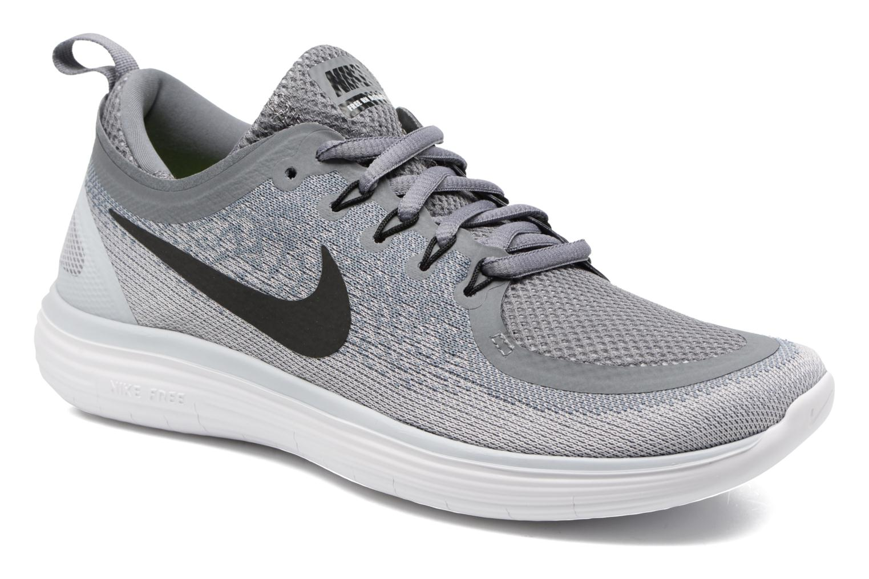 Chaussures de sport Nike Wmns Nike Free Rn Distance 2 Gris vue détail/paire