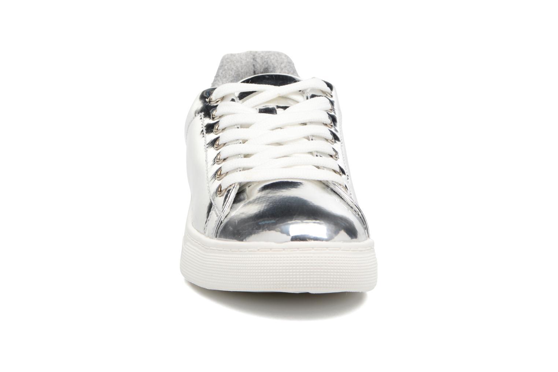 Baskets I Love Shoes MC ETASSI Argent vue portées chaussures