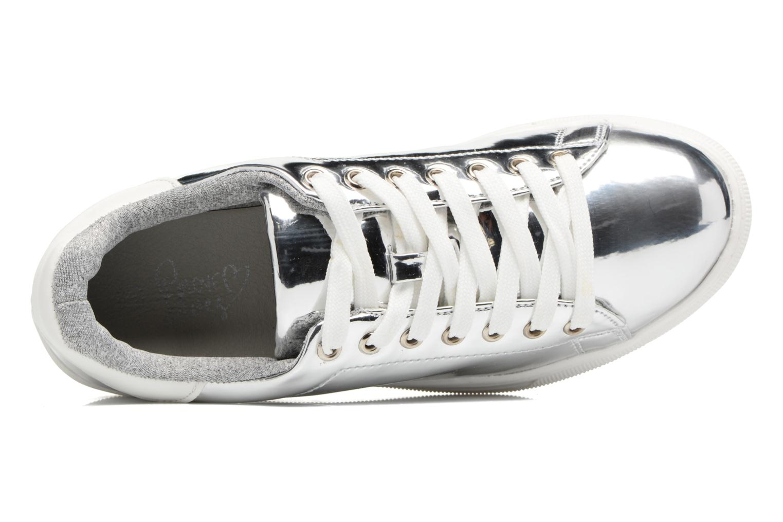 Deportivas I Love Shoes MC ETASSI Plateado vista lateral izquierda