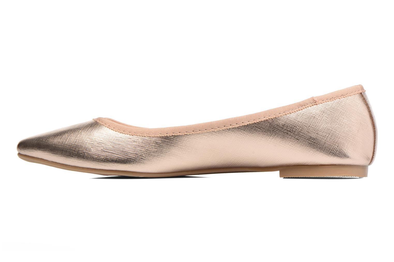 Ballerina's I Love Shoes MC ANAS Goud en brons voorkant