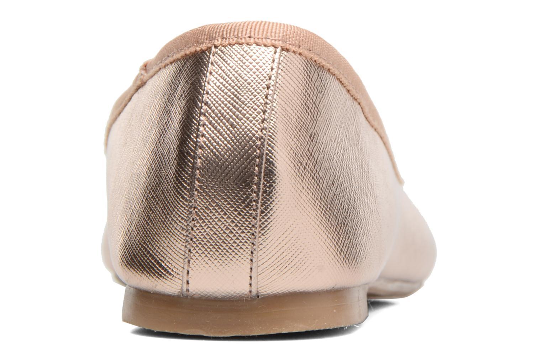 Ballerines I Love Shoes MC ANAS Or et bronze vue droite