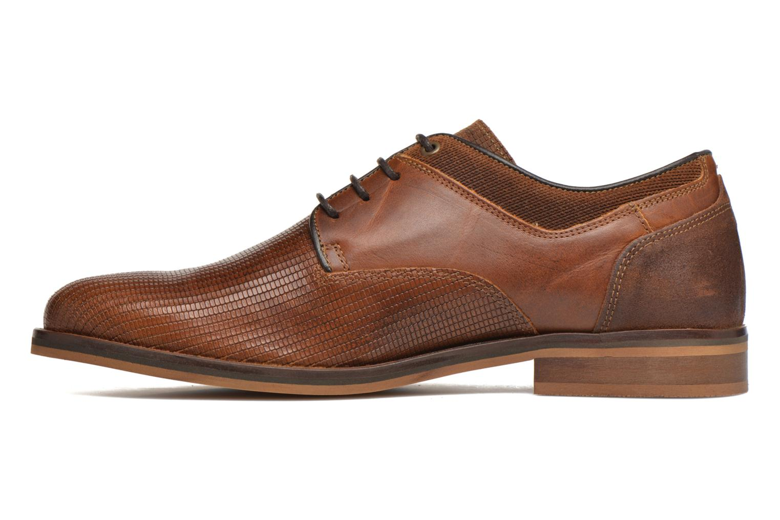 Lace-up shoes Bullboxer Mallow Brown front view