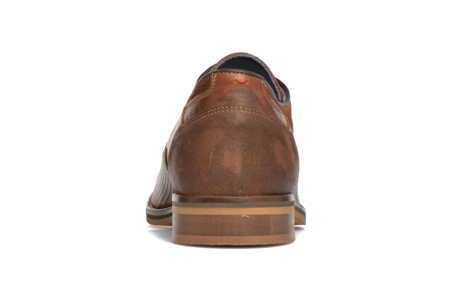 Lace-up shoes Bullboxer Mallow Brown view from the right