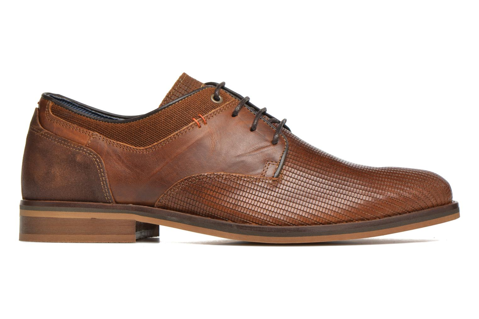 Lace-up shoes Bullboxer Mallow Brown back view