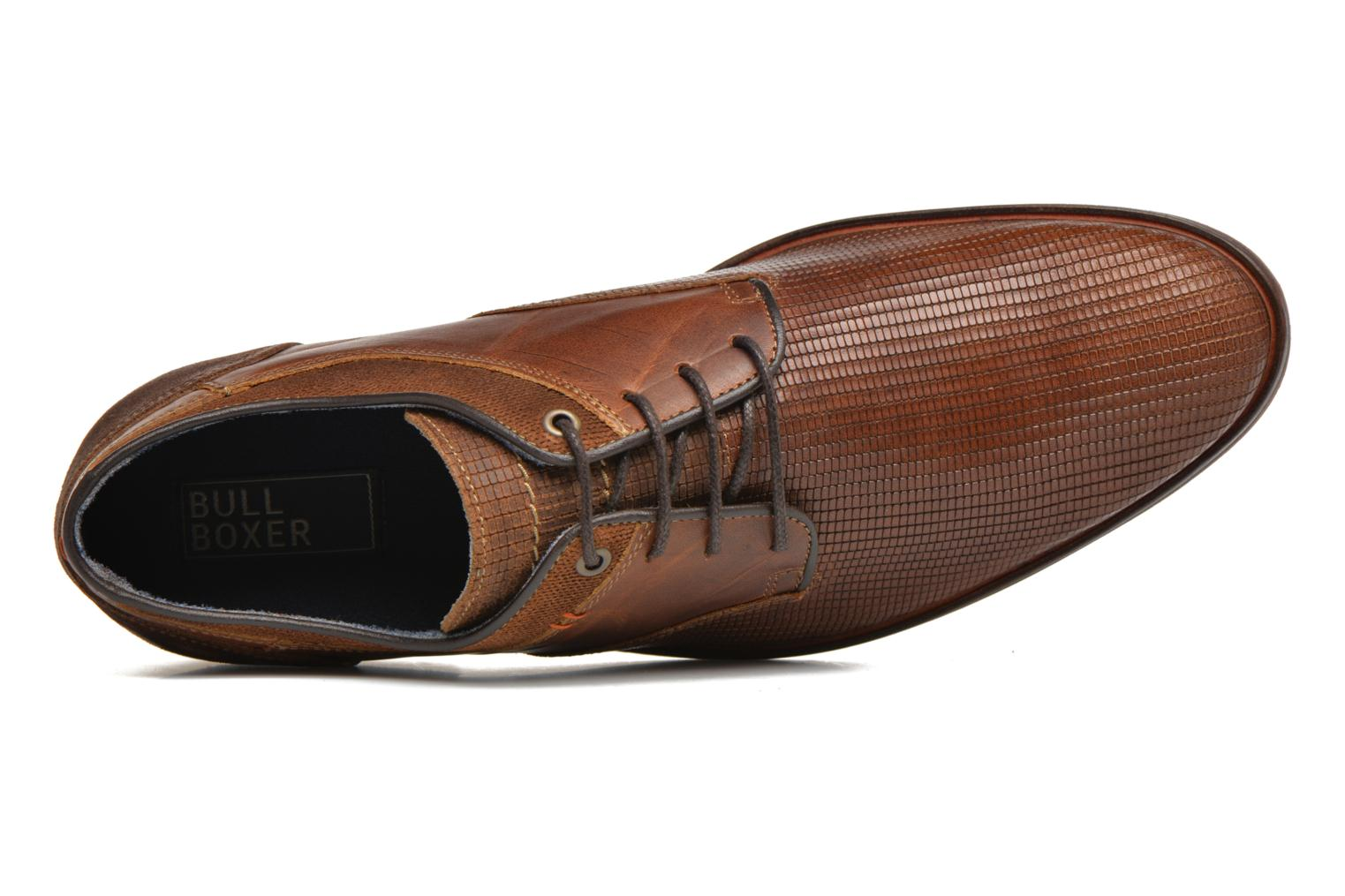 Lace-up shoes Bullboxer Mallow Brown view from the left
