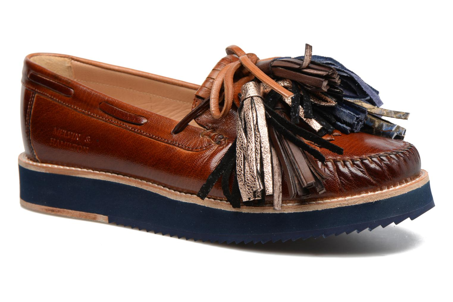 Bea 4 Crust tan tassel multi z navy navy