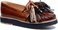 Crust tan tassel multi z navy navy