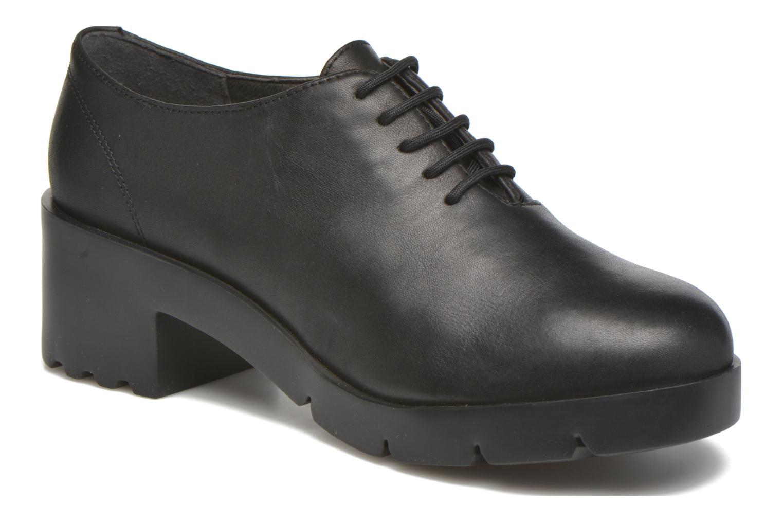 Chaussures à lacets Camper Wanda Noir vue détail/paire