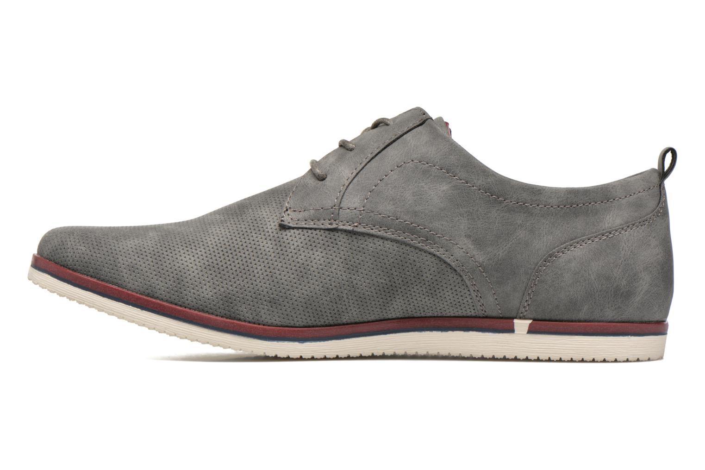 Schnürschuhe I Love Shoes KEHOLE grau ansicht von vorne
