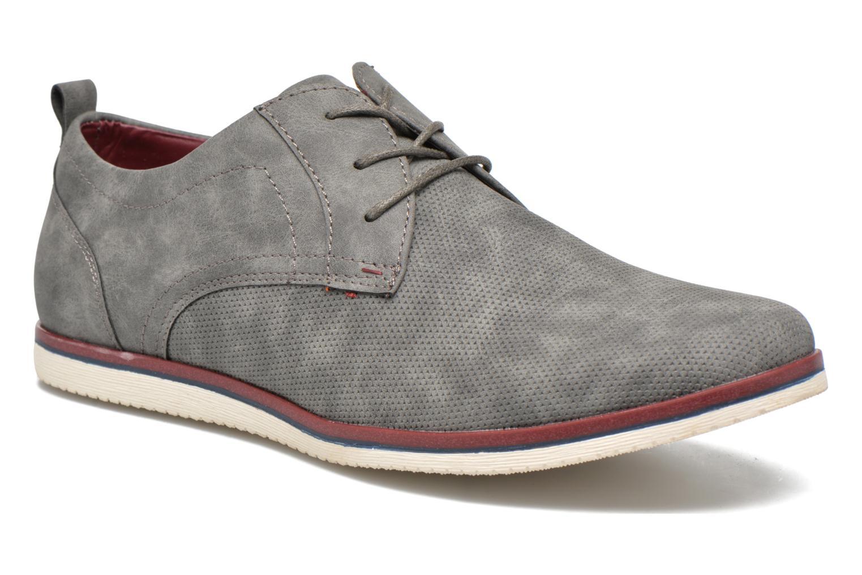Veterschoenen I Love Shoes KEHOLE Grijs detail