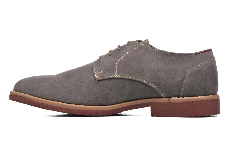 Schnürschuhe I Love Shoes KERED grau ansicht von vorne