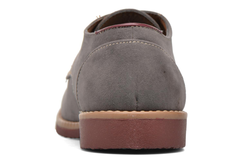 Chaussures à lacets I Love Shoes KERED Gris vue droite